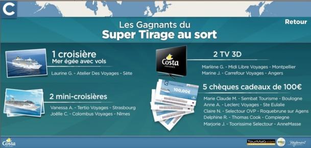 Costa Croisières : carton plein pour Costacademy 3