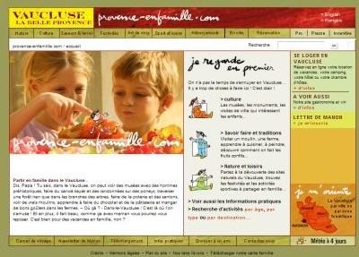 Vaucluse : Provence-enfamille.com cherche une activité pour vos enfants !