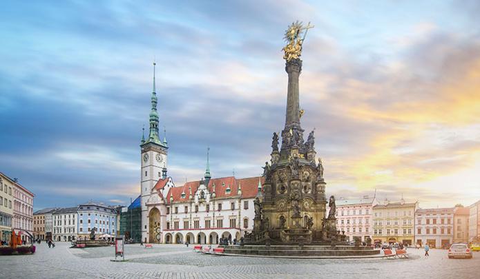 Olomouc Sainté Trinité - © Shutterstock