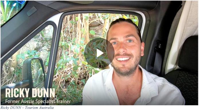 Ricky Dunn, ancien formateur d'agents de voyages pour Tourism Australia en Europe, en Asie et en Amérique du Nord - DR