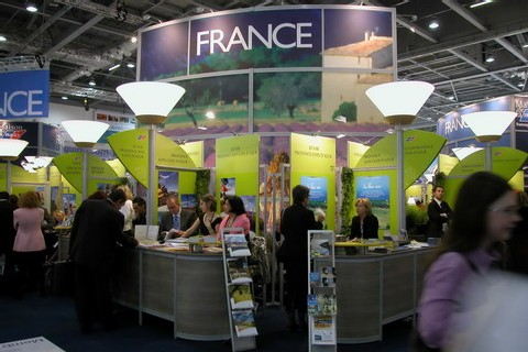 Un grand salon du tourisme paris en 2008 for Salon du tourisme en france