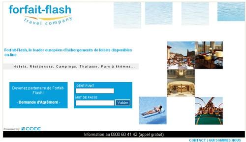 Forfait Flash : le site BtoB fait peau neuve
