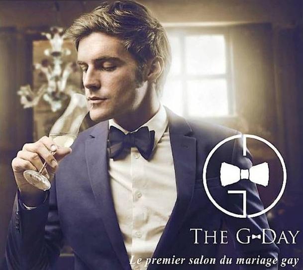 Le flyer du G-Day, premier salon du mariage gay. DR