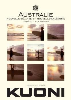 La brochure Australie (à venir) avec Nouvelle-Zélande et la Nouvelle Calédonie développe une véritable offre de spécialiste