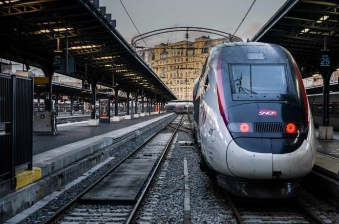 Gare de l'Est à Paris le 13 décembre 2019. Martin Bureau/AFP
