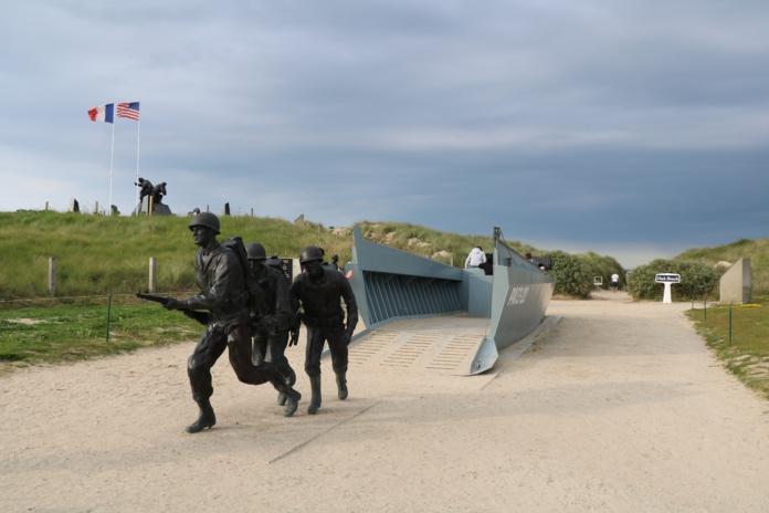 Les Plages du Débarquement aux noms de codes donnés par les Alliés. Ici Utah Beach - DR : Severine Frères - Normandie Tourisme