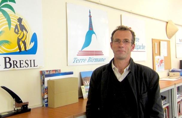 Christophe Sentuc, fondateur de Terre Voyages. DR