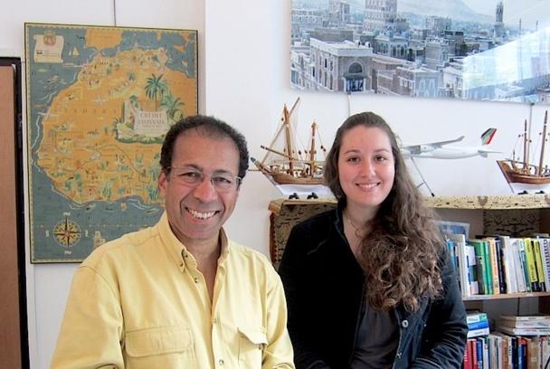 Jalel Bouagga et d'Emmanuelle Andreau de l'agence Sindbad Voyages - DR : LAC
