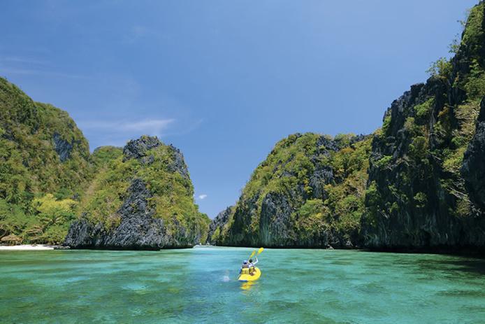 Kayak © El Nido PDOT et Erwin Lim