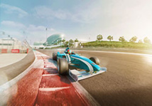 Conduite sur le Yas Marina Circuit © Abu Dhabi Department of Culture and Tourism