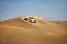 Safari dans le désert du Rub Al Khali © Abu Dhabi Department of Culture and Tourism
