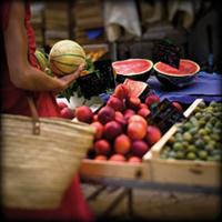 © P. Gherdoussi - le marché d'Aix-en-Provence- Provence