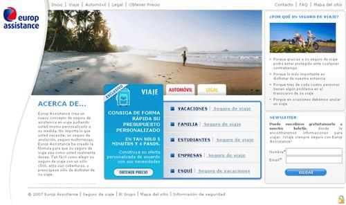 Europ Assistance lance son premier site e-commerce en Espagne
