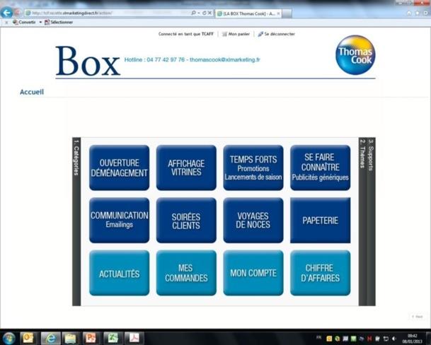 """Thomas Cook et Jet tours lancent """"La Box"""", une boite à outils d'actions marketing"""