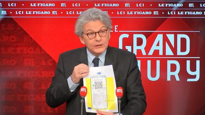 Thierry Breton commissaire européen en charge des vaccins - DR