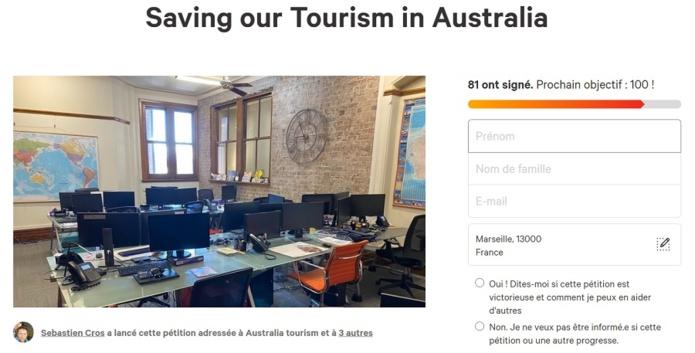 Depuis quelques jours les pros du tourisme n'ont plus d'aides du gouvernement - Capture écran