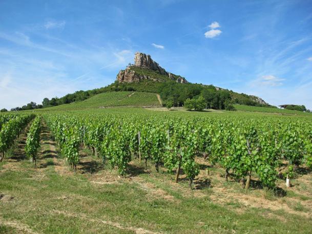 Les Roches de Solutré Pouilly Vergisson, 13e Grand Site de France - DR : A.BORIOS