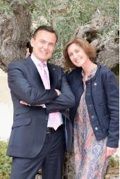 Fabien Piancentino, avec sa femme Valérie, est nommé Directeur général du Couvent des Minimes - Photo DR