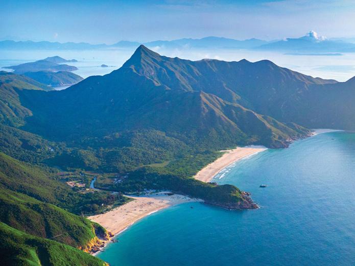 Plage de Ham Tin Wan sur le MacLehose Trail © Hong Kong Tourism Board