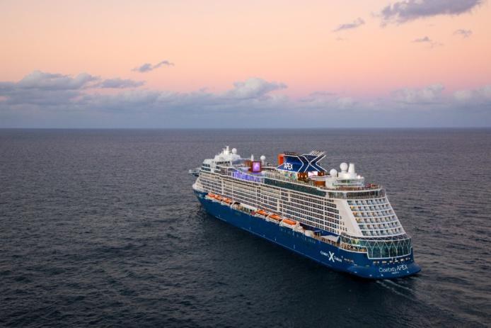 Le Celebrity Apex sera positionné au départ d'Athènes jusqu'en septembre 2021 - Photo Celebrity Cruises
