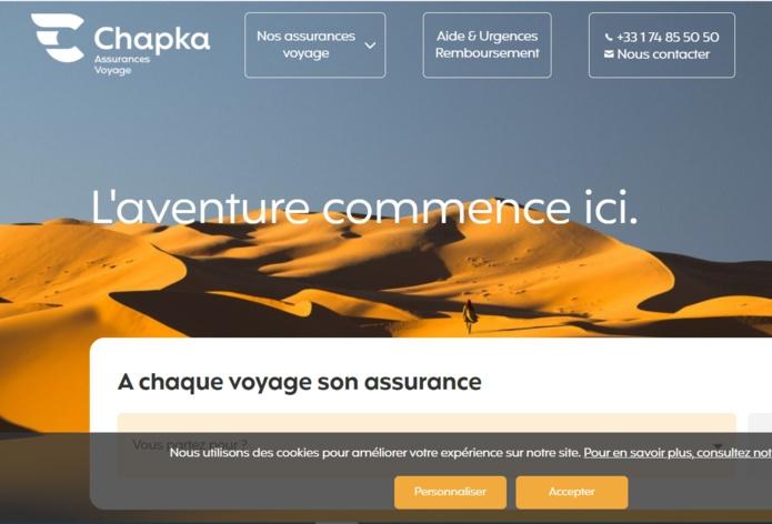 Assurance voyage : Chapka, change tout et fait sa mue
