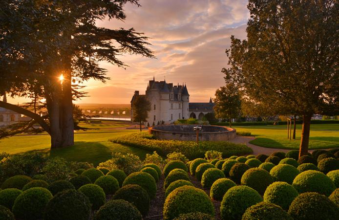 © L. De Serres - Jardin Château d'Amboise
