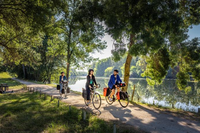 © D. Darrault/ CRT Centre-Val de Loire - Cher à vélo