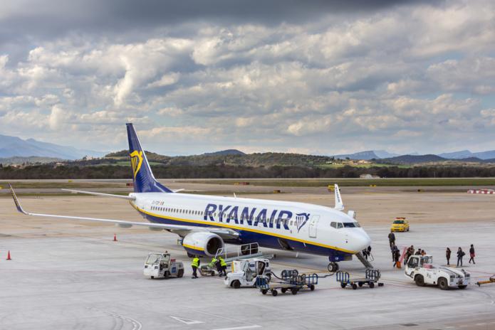Ryanair y opérera 174 vols par semaine vers 44 destinations, dont 4 nouvelles lignes vers Marseille, Naples, Zadar et Zagreb. /crédit DepositPhoto
