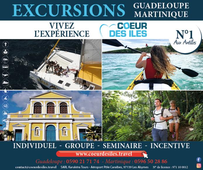 © Coeurdesiles - Réceptif Guadeloupe – Martinique