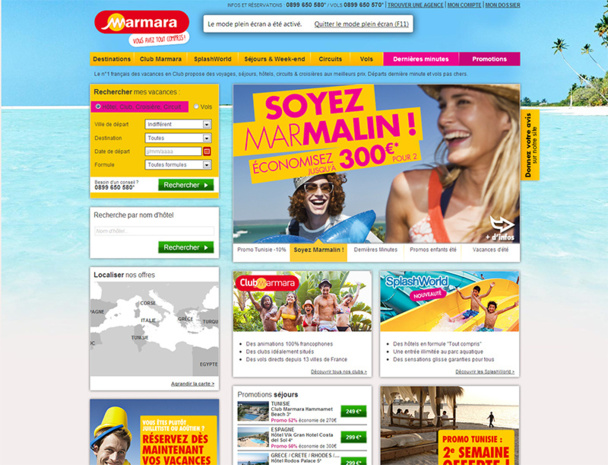 Le site web de Marmara fait peau neuve