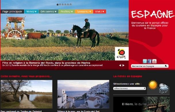 L'Office du Tourisme en Espagne concentre ses efforts et ses dépenses sur la promotion de formes de tourisme autres que le balnéaire - Capture d'écran