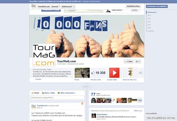 TourMaG.com passe la barre des 10 000 fans sur Facebook !