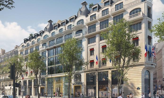 La transformation d'un joyau des années 1900 en un hôtel 5 étoiles de 149 chambres et suites /crédit dr