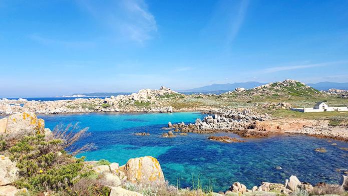 Iles Lavezzi en Corse - DR CroisiEurope
