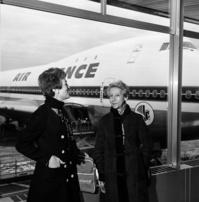 Air France célèbre la première femme à franchir les Andes