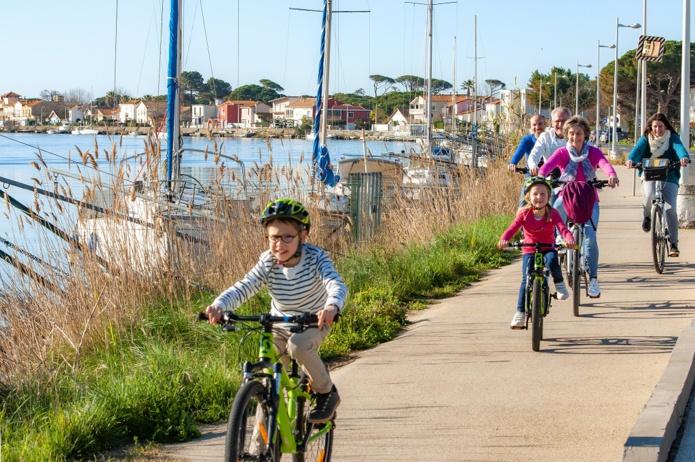 Cap Vélo commercialise un séjour de trois jours de Montpellier à Béziers idéal pour les familles. – DR : Cap Vélo.