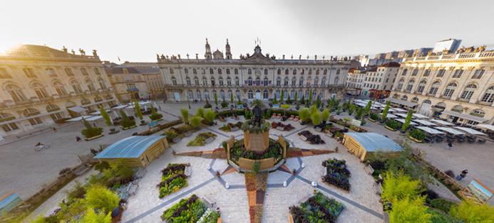 ©  Visitnancy 360 - Vue sur la Place Stanislas