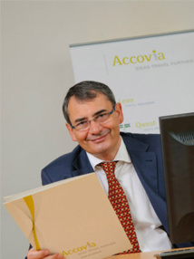 Patrick Bleu, directeur Europe d'Accovia