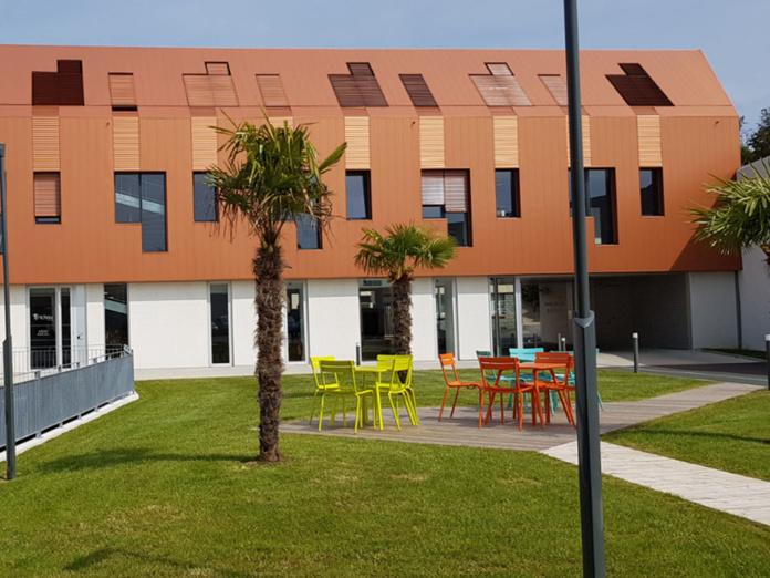 Le siège du Groupe Richou Voyages à Cholet - Photo CE