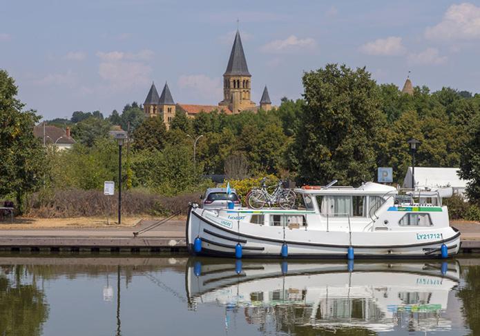 La Saône à Tournus © Alain Doire BFCT