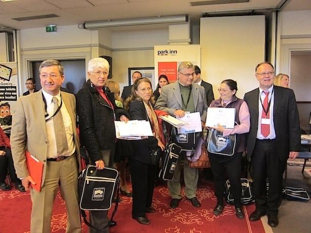 Près de 80 personnes ont participé à l'éductour organisé par Roissy-en-France. L'office de tourisme avait organisé un jeu concours et les gagnants sont repartis les bras chargés de cadeaux - DR : LAC