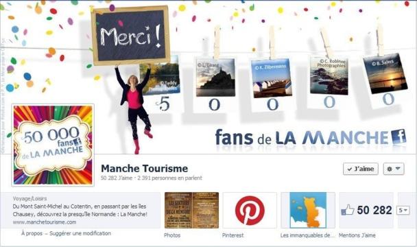 """Jean-Marc Julienne : """"Notre page Facebook, c'est un lieu de rencontre pour la communauté des amoureux du département, elle a pour but de forger un véritable sentiment d'appartenance."""" Capture d'écran"""