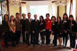 Les équipes de Meet Taïwan, accompagnées de 5 partenaires locaux, ont organisé un workshop MICE à Paris le 24 mai 2013 - Photo DR