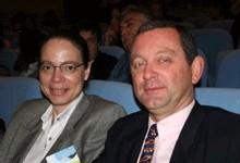 Pierre-Yves Maureau président de la CSR Réunion et Catherine Frécaut, sa vice-présidente