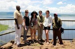 Les deux blogueuses ont été invitées au Kenya en avril 2013 - Photo DR