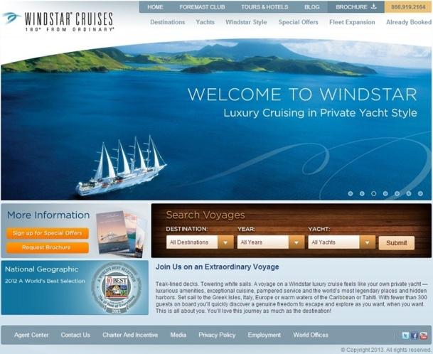 En rachetant 3 navires à Seabourn, Windtsar est désormais en mesure de lancer de nouvelles destinations - Capture d'écran