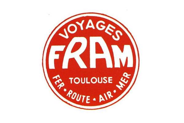 Le 1er logo de FRAM - DR