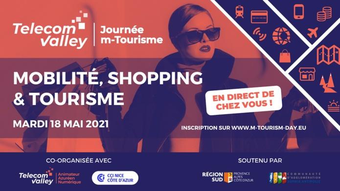 Sur le thème « i[Mobilité, Tourisme & Shopping]i », la Journées du m-Tourisme rassemblera le 18 mai 2021 les professionnels du tourisme et les entreprises azuréennes du numérique. - DR