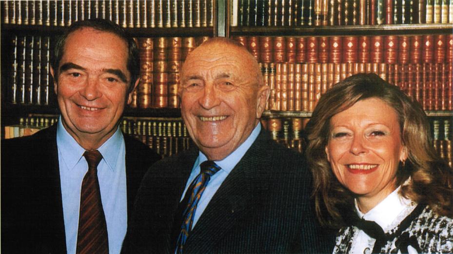 Georges Colson, Philippe Polderman et Marie-Christine Chaubet - DR
