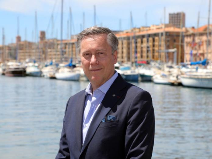 croisière MSC Marseille : Patrick Pourbaix, le directeur général pour la France Belgique et Luxembourg de MSC Croisières, indique la cap /crédit dr